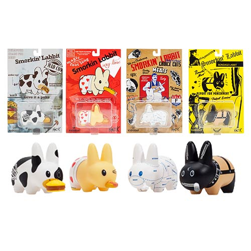 Smorkin' Labbit Vinyl Mini-Figure Set