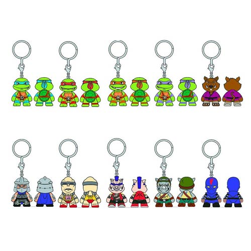 Teenage Mutant Ninja Turtles Key Chain 6-Pack
