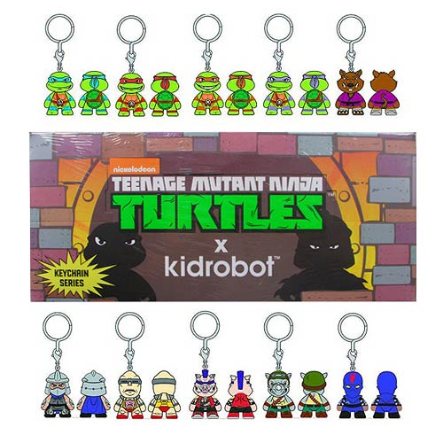 Teenage Mutant Ninja Turtles Key Chain Display Box
