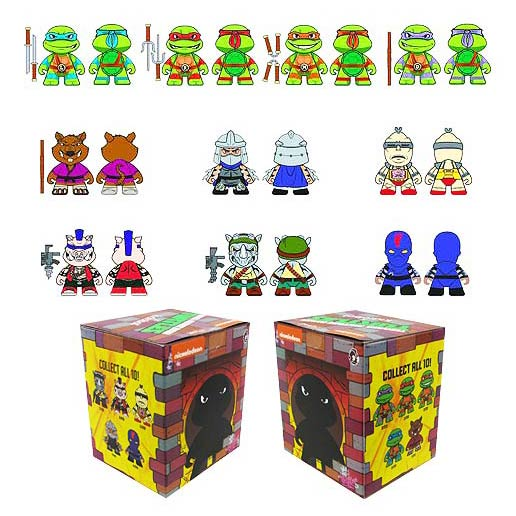 Teenage Mutant Ninja Turtles Mini-Figure Display Box