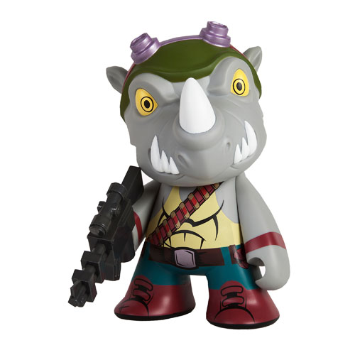 Teenage Mutant Ninja Turtles Rocksteady 7-Inch Vinyl Figure