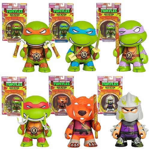 Teenage Mutant Ninja Turtles Ooze Action Mini-Figure Set