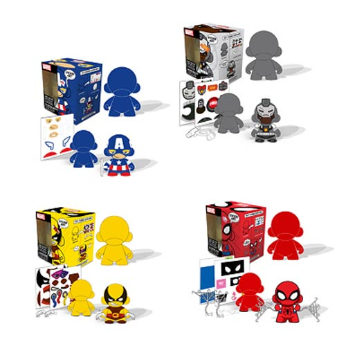 Marvel Mini MUNNY DIY 4-Inch Figure Case