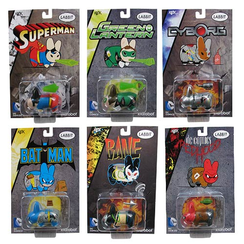 DC Universe Labbit Mini-Figure Set