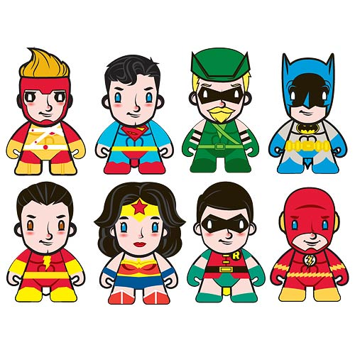 DC Universe Super Powers Mini-Figure Random 4-Pack