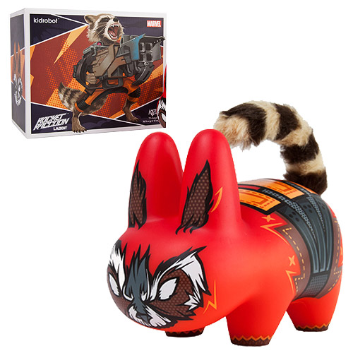 Guardians of the Galaxy Rocket Raccoon Labbit Vinyl Figure