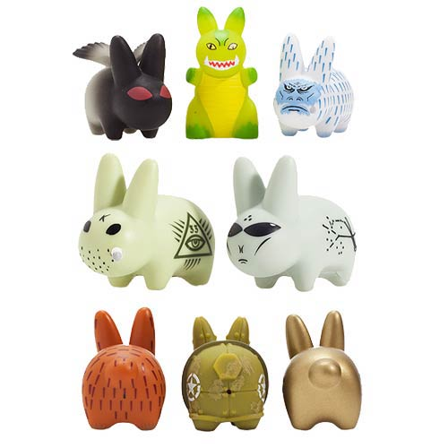 Lore of Labbit Mini Smorkin' Labbit Vinyl Figure Display Box