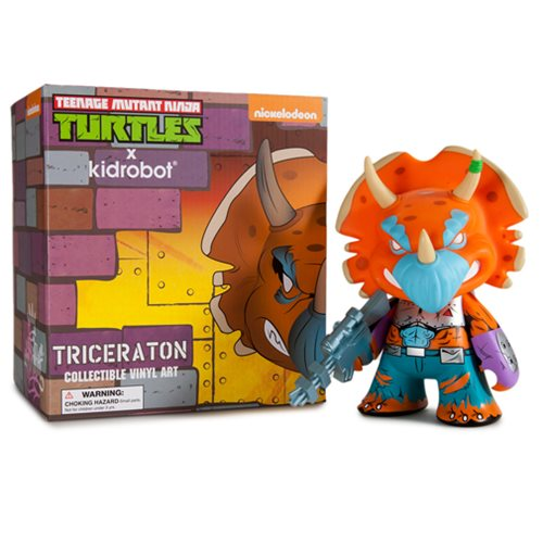 Teenage Mutant Ninja Turtle Triceraton Vinyl Figure
