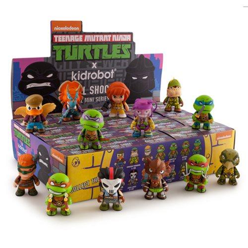 Teenage Mutant Ninja Turtles Shell Shock Mini-Figure 4-Pack