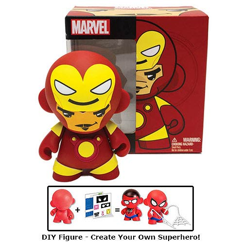Marvel MUNNY Iron Man Tony Stark DIY Vinyl Figure