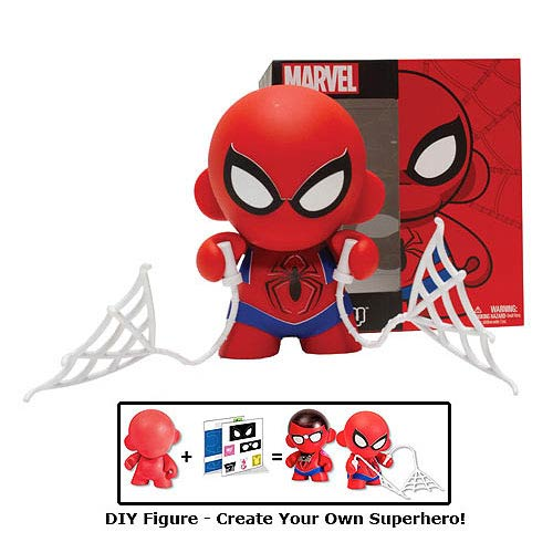 Marvel MUNNY Spider-Man DIY Vinyl Figure