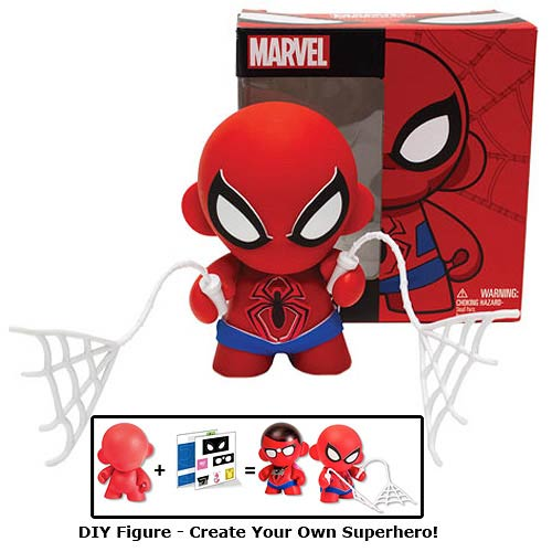 Marvel Mini MUNNY Spider-Man DIY Vinyl Figure