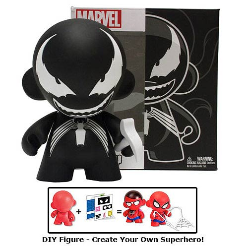 Marvel Mini MUNNY Venom DIY Vinyl Figure