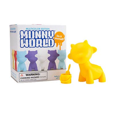 Micro MUNNYworld Raffy 2-Inch Vinyl Mini-Figure Display Box