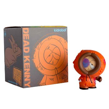 South Park Dead Kenny Vinyl Mini-Figure