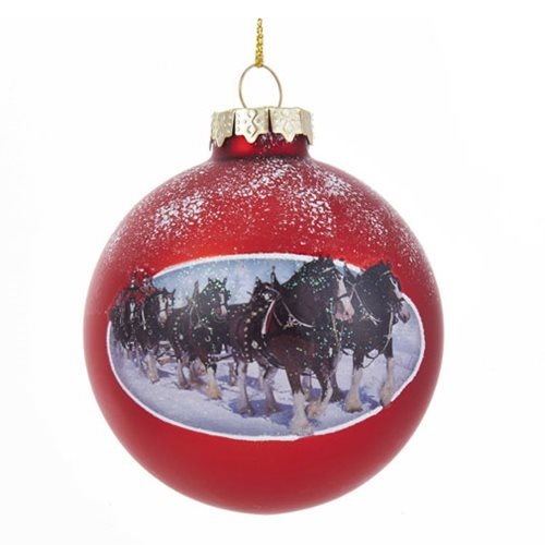 Budweiser Christmas Ornaments