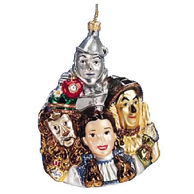 Wizard of Oz Dorothy and Friends Polonaise Ornament