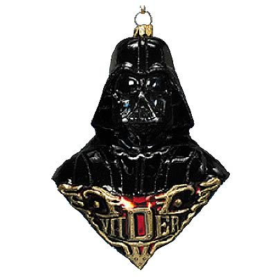 Star Wars Darth Vader Polonaise Glass Ornament