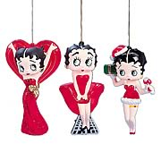 Betty Boop Blow Mold Ornaments