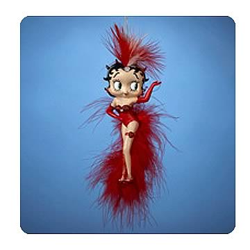 Betty Boop Showgirl 6-Inch Ornament