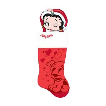 Betty Boop Molded Head Stocking