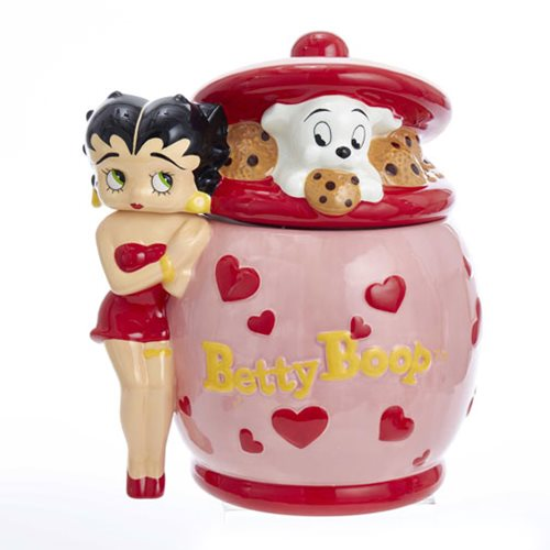 Betty Boop and Pudgy Cookie Jar