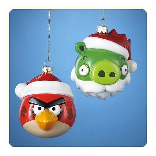 Angry Birds Glass Ornaments Case
