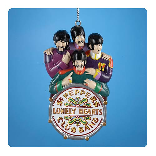 Beatles Yellow Submarine Sgt. Pepper's 4-Inch Ornament
