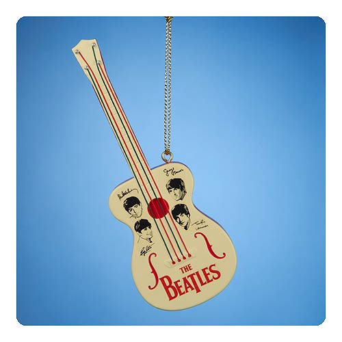 Beatles Retro Toy Guitar Ornament