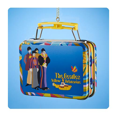 Beatles Yellow Submarine Mini Lunch Box Christmas Ornament