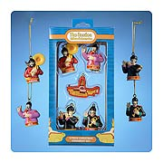 Beatles Yellow Submarine 1 3/4-Inch 5-Pack Mini Ornaments