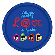 Beatles All You Need Is Love Serving Tray