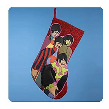 Beatles Yellow Submarine Fab Four 19-Inch Stocking