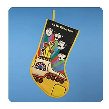 Beatles Yellow Submarine All You Need Is Love Stocking