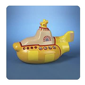 Beatles Yellow Submarine 12-Inch Cookie Jar