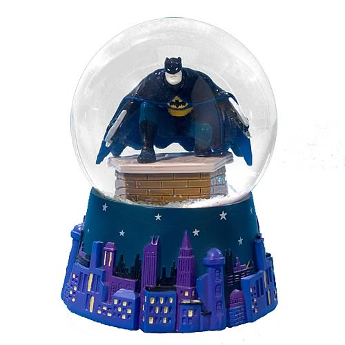 Batman Resin Water Globe