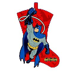 Batman Felt Stocking