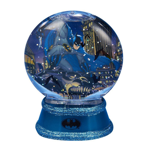 Batman Gotham Light-Up 3 1/2-Inch Snow Globe