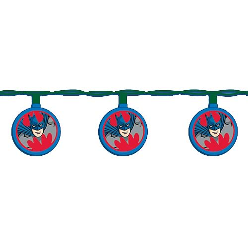 Batman Gotham Disc Party Lights Set