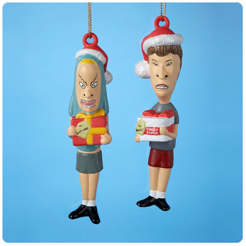 Beavis and Butt-Head Figural Ornament 2-Pack