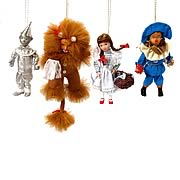 Wizard of Oz 5-Inch Porcelain Doll Set