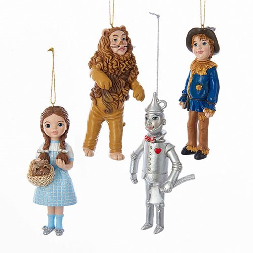 Wonderful Wizard Of Oz 5-Inch Ornament 4-Pack