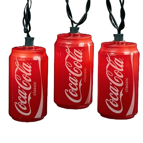 Coca-Cola Can Party Lights Set