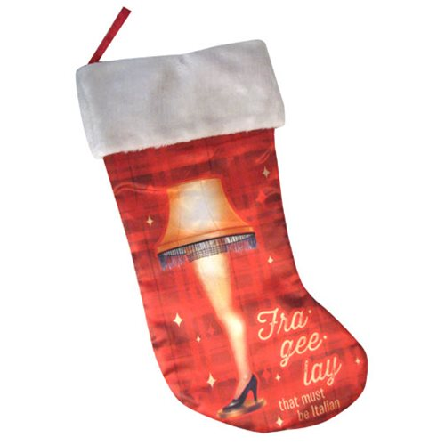 A Christmas Story Leg Lamp 19-Inch Printed Stocking