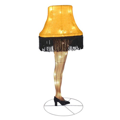 A_Christmas_Story_Leg_Lamp_28-Inch_Light-Up_Tinsel_Display