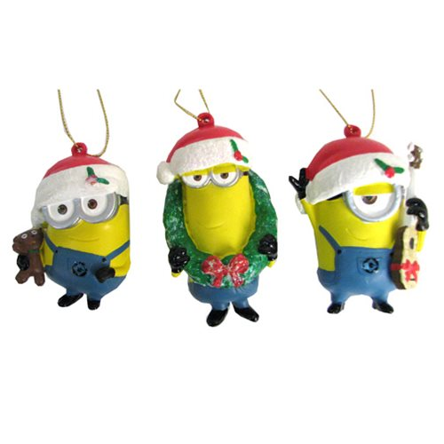 Despicable Me Minions Figural Ornament Case
