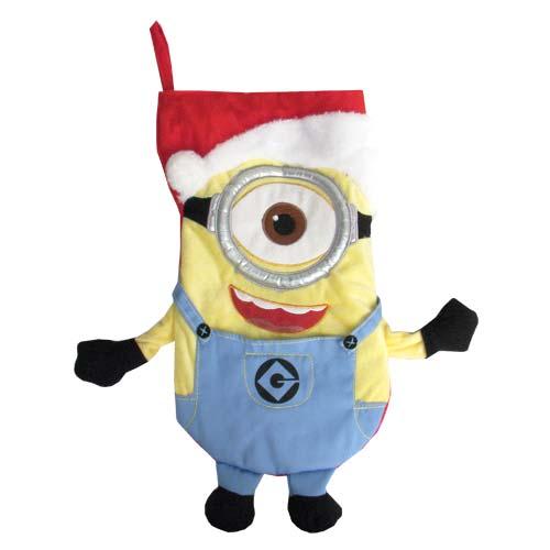 Despicable Me Carl Plush Christmas Stocking