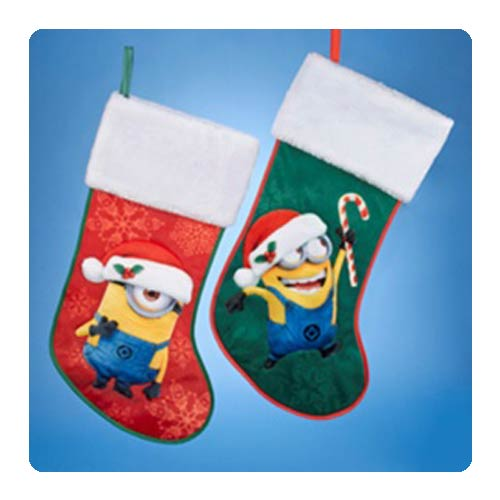 Despicable Me 19-Inch Holiday Stocking with Cuff Set