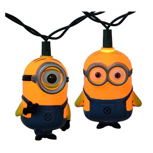 Despicable Me Minions Christmas Lights