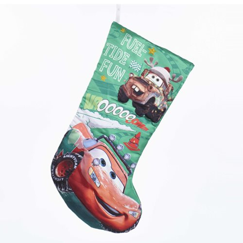 Cars 3 18-Inch Printed Satin Stocking